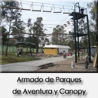 Armado de Parques de Aventura y Canopy